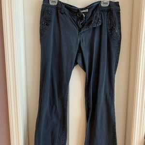 Aeropostale 11/12R Navy Blue Flare Pants